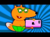 FOX FAMILY Baby Plays Iphone 7 New Episode Surprise Eggs Finger Family Song Nursery Rhymes