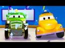 Автомойка Эвакуатора Тома и Трактор Бен | Мультфильмы с машинками для детей