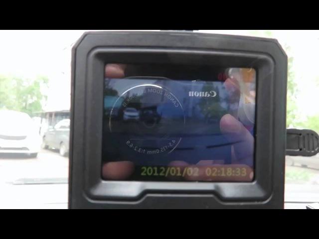 Обзор Видеорегистратора Erisson VR-F107 за 1590 руб!