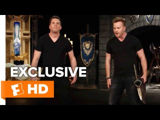How To Fight Like an Orc with Rob Kazinsky | Warcraft Lessons HD