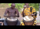 The Late Great Mali Master Drummer Djembe Fola Aruna Sidibe w/ Brulye Dounbia in Mali HD