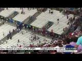 Драка русских и английских фанатов после матча Россия-Англия на Евро-2016 в Марселе