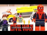 LEGO Marvel Super Heroes 76067 Нападение на бензовоз Обзор конструктора Лего Человек-паук супергерои