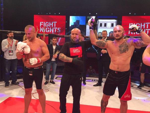 Победа Алексея Стояна!