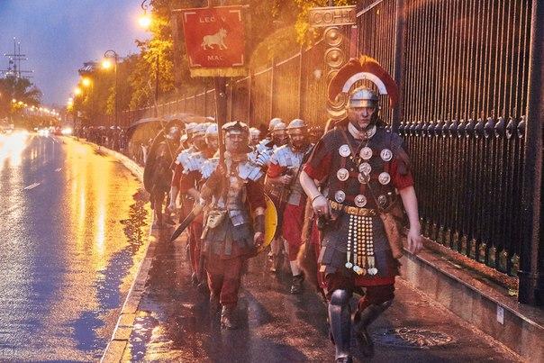 Пятый македонский легион на Ночи Музеев 2016