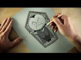 Самый короткий в мире хоррор-мультфильм