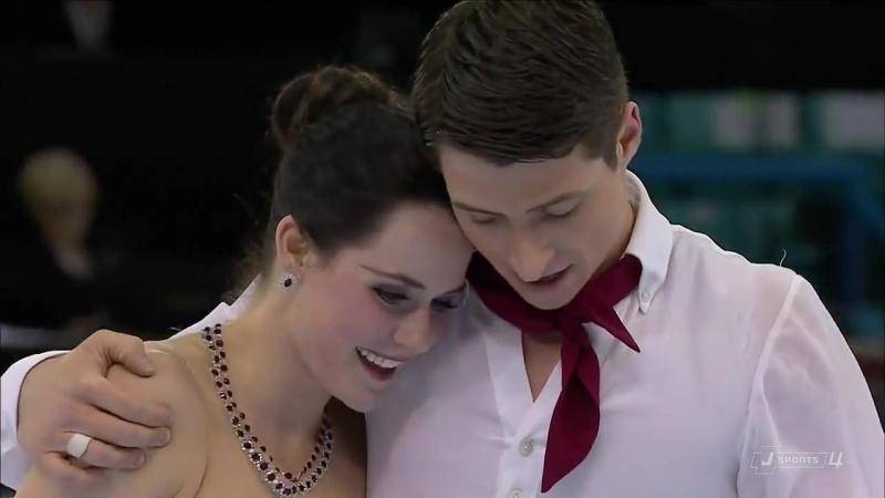 Tessa Virtue Scott Moir. FD. 2012 Canadian Figure Skating Championships