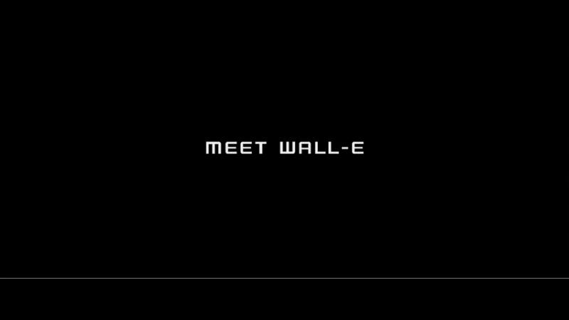 ВАЛЛ·И/WALL·E (2008) Тизер №2