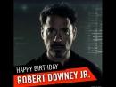Happy Birthday, Robert Downey Jr 🥂