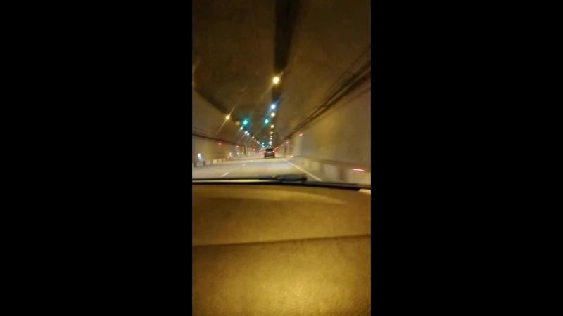 очень длинный тоннель в Сочи!!