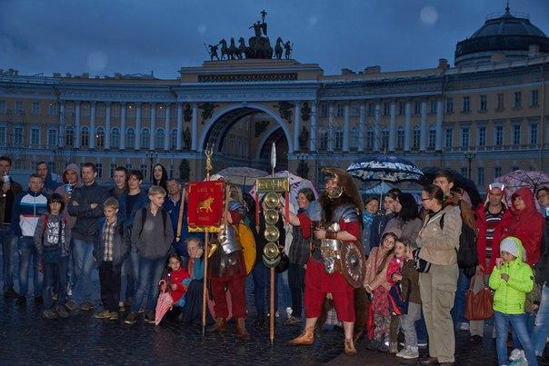 Пятый македонский легион на Дворцовой площади