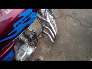 Миша Табуреткин видео обзор мотоцикла Альфа