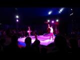 Парные жонглеры Анна и Виктор Рябовы