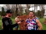 David Andjelz (David Andjelic) NRL ROOKIE running through brick wall- ORIGINAL V