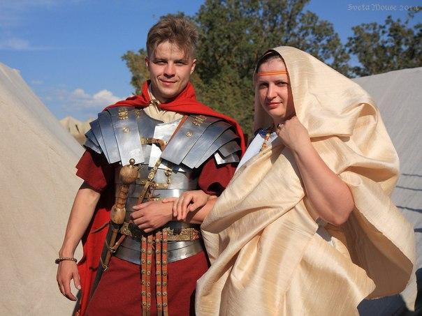 римлянин и матрона