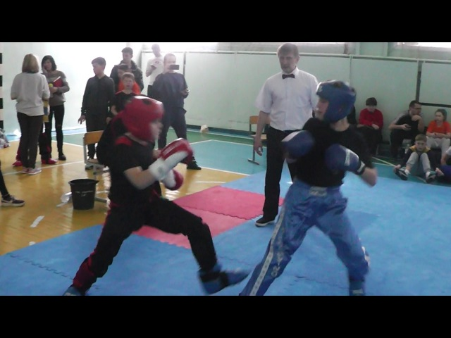 Kickboxing (WTKA) Чемпионат Украины Финал Чемпион Лайт-контакт 30.03-02.04.2017 Запор ...
