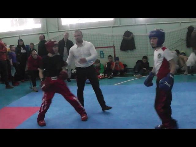 Kickboxing (WTKA) Чемпионат Украины Чемпион Полуфинал Семи-контакт 30.03-02.04.2017 З ...