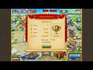 Веселая ферма Древний Рим Глава 4-2 Золото Farm Frenzy Ancient Rome Chapter 4-2 only GOLD