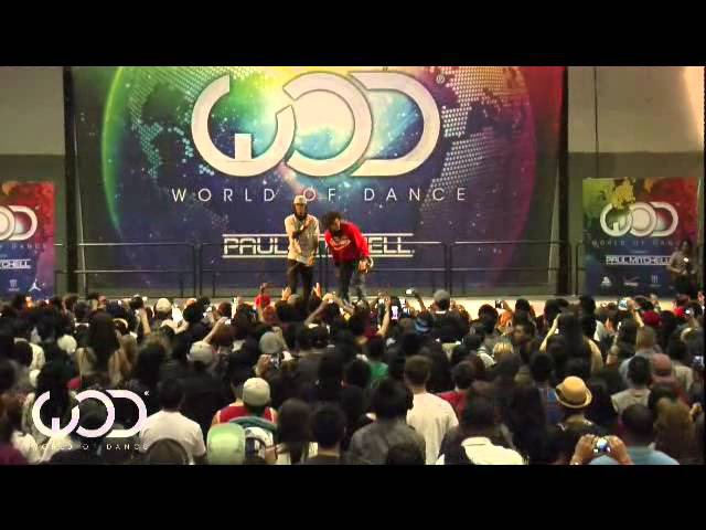 The Return of Les Twins || Presented by Far East Movement || World of Dance LA 2012