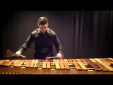 Prelude and Fugue B flat Major, WTC Book I by J.S. Bach, Kevin Bobo, marimba