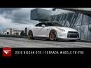 2016 Nissan GTR Ferrada Wheels F8 FR5