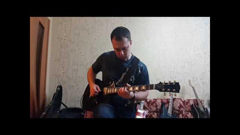 Новогодний джем 2017 musicforums.ru (Gibson Les Paul Studio'06 AMT SS-11A Pangaea CP-100)