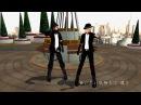 MMD CCFFⅦ ザックスとクラウドでRisky Game 歌詞付き