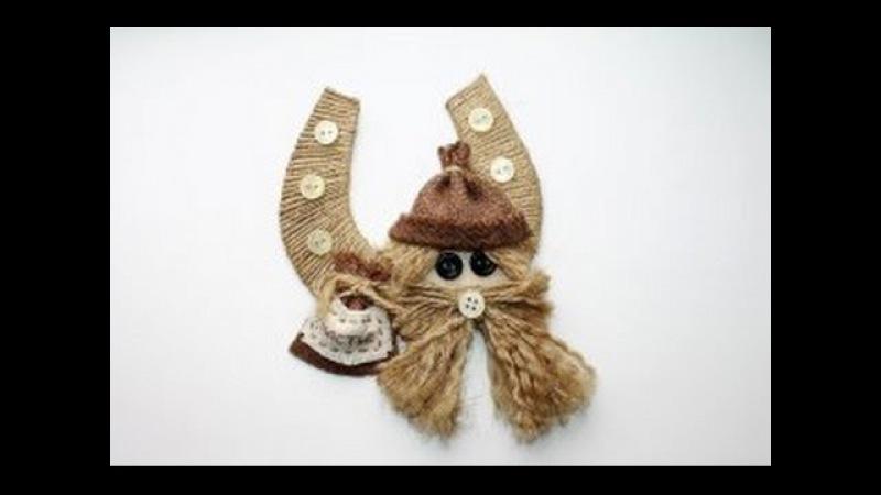 Подкова на счастье - талисман, предмет декора или сувенир своими руками!