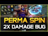 PERMA SPIN 2x DMG BUG - URF Garen GOD MODE | League of Legends