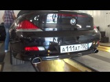 BMW M6 (изменение звука и насадок)