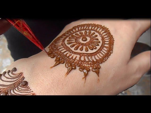 Full Video Easy Simple Mehndi Design Cute Henna Mehendi For Hand(New)