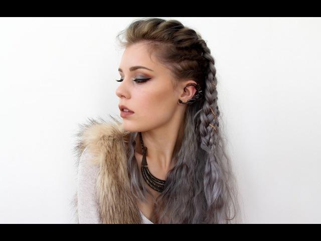 Прическа Лагреты Викинги Vikings Lagertha Inspired Hair Tutorial