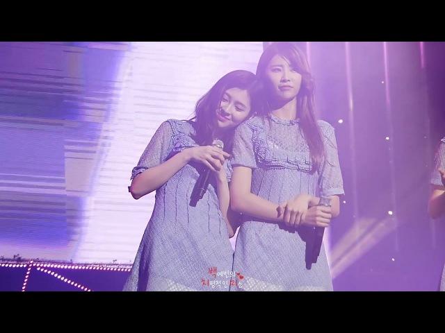 161225 다이아 예빈 꽃, 바람 그리고 너 직캠 @ '첫번째 기적' 2회차 콘서트