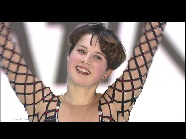 [HD] Irina Slutskaya - Don Quixote 2000/2001 GPF - Round 1 Free Skating イリーナ・スルツカヤ Ирина Слуцкая