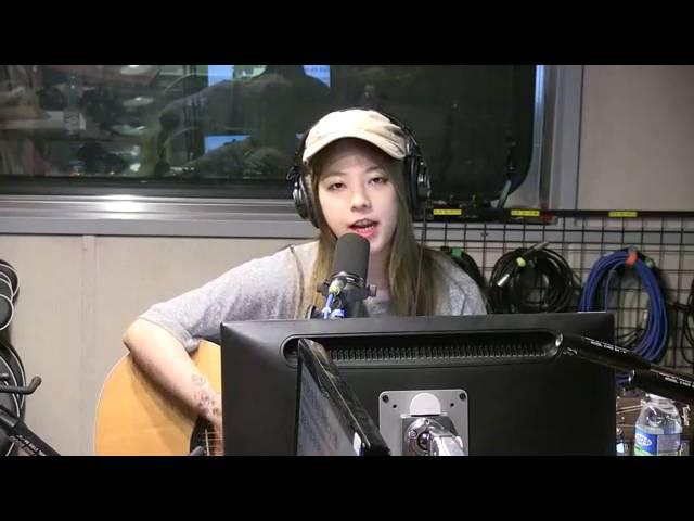 160803 JUNIEL - Everlasting Sunset @ SBS Song Euni Kim Sook's Sister Radio Live