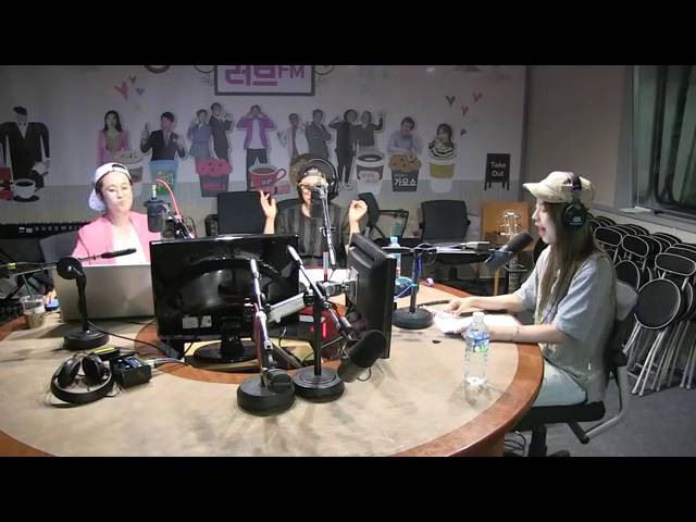 160803 JUNIEL - Pisces @ SBS Song Euni Kim Sook's Sister Radio Live