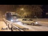 Audi Quattro Power in snow - TOP 10