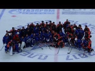 SKA 6:3 Philadelphia Flyers / СКА 6:3 Филадельфия Флайерз с трибуны Ледового дворца