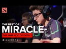 The BEST of Miracle The MMR God of Dota 2