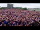 Кричалка фанатов сб.Исландии.Футболисты и болельщики сб.Исландии празднуют победу над Англией.