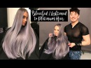 Bleached/Lightened to Platinum Hair