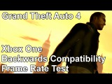 Grand Theft Auto 4 Xbox 360 vs Xbox One Backwards Compatibility Frame Rate Test