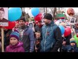 Праздничное шествие в День Победы - Лодейное Поле, 2017.
