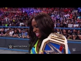 WWE Elimination Chamber Naomi Discusses her Victory