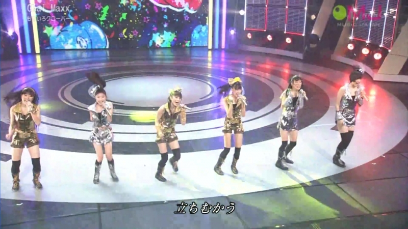 Momoiro Clover Chai Maxx [Music Japan 2011.03.27]