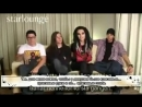 2009-09-08 - MSN Starlounge Video - Tokio Hotel interview с рус суб
