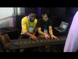Cory Henry and Heen Wah play Chick Coreas Spain on the Roli Seaboard at NAMM 2014