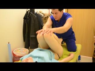 Тайский йога массаж. Часть 2.