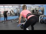 Female Fitness Motivation - Яна Белянская_тренировка спины и плеч