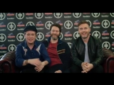 Take That say Hello to fans